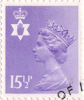 Regional Decimal Definitive - Northern Ireland 15.5p Stamp (1982) Pale Violet