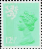 Regional Definitive - Scotland 12.5p Stamp (1982) Light Emerald