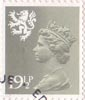 Regional Definitive - Scotland 19.5p Stamp (1982) Olive Grey
