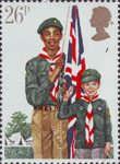 Youth Organisations 26p Stamp (1982) Boy Scout Movement