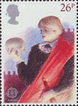 Europa. British Theatre 26p Stamp (1982) Hamlet