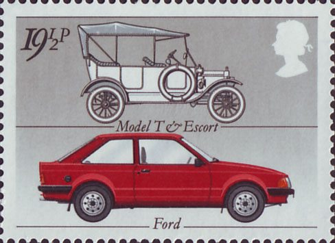 British Motor Industry 1982 Collect Gb Stamps