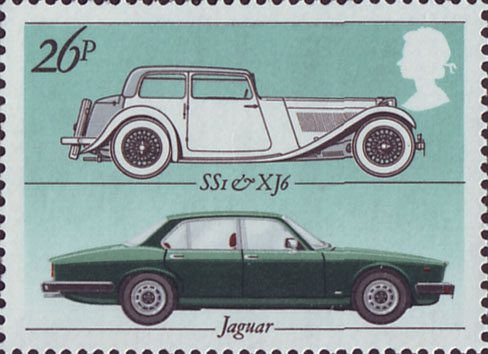 British Motor Industry Collect Gb Stamps