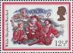 Christmas 1982 12.5p Stamp (1982) 'While Shepherds Watched'