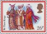 Christmas 1982 26p Stamp (1982) 'We Three Kings'