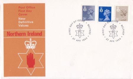 Regional Decimal Definitive - Northern Ireland (1983)