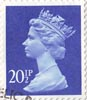 Definitive 20.5p Stamp (1983) Ultramarine