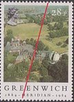 Centenary of Greenwich Meridian 28p Stamp (1984) Greenwich Observatory