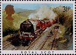 Famous Trains 31p Stamp (1985) Royal Scot