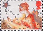 Christmas 1985 31p Stamp (1985) Good Fairy
