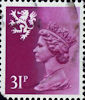 Regional Definitive - Scotland 31p Stamp (1986) Regional Definitive - Scotland