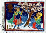 Christmas. Folk Customs 12p Stamp (1986) The Glastonbury Thorn