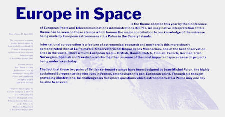 Europe in Space (1991)