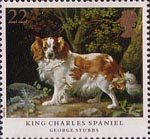 Dogs 22p Stamp (1991) 'King Charles Spaniel'