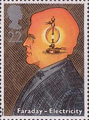 Scientific achievements 1991 collect gb stamps for Michael faraday electric motor