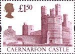 High Value Definitives �1.50 Stamp (1992) Caernarfon Castle