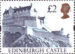 High Value Definitives �2 Stamp (1992) Edinburgh Castle