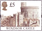 High Value Definitives �5 Stamp (1992) Windsor Castle