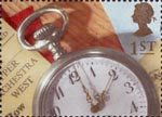 Greeting Stamps. 'Memories' 1st Stamp (1992) Pocket Watch