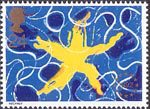 Single European Market 24p Stamp (1992) European Star