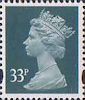 Definitives 33p Stamp (1993) grey-green