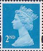 Definitives 2nd Stamp (1993) bright blue