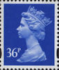 Definitive 36p Stamp (1993) Bright Ultramarine