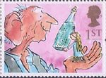 Greetings Stamps - Giving 1st Stamp (1993) The Big Friendly Giant and Sophie (The BFG)
