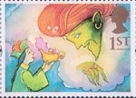 Greetings Stamps - Giving 1st Stamp (1993) Aladdin and the Genie