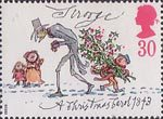 Christmas 30p Stamp (1993) Scrooge