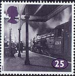 The Age of Steam 25p Stamp (1994) Class A1 No. 60149 Amadis at Kings Cross