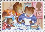 Greetings - Messages 1st Stamp (1994) The Three Bears