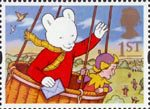 Greetings - Messages 1st Stamp (1994) Rupert Bear