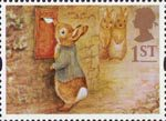 Greetings - Messages 1st Stamp (1994) Peter Rabbit posting Letter