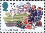 The Four Seasons. Summertime Events 35p Stamp (1994) Test Match, Lord's