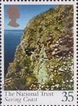 Centenary of National Trust 35p Stamp (1995) St Davids Head, Dyfed, Wales