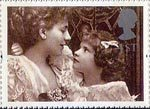 Greetings Stamp. 'Greetings in Arts' 1st Stamp (1995) 'Alice Keppel with her Daughter' (Alice Hughes)