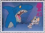 Big Stars from the Small Screen - Children's TV Characters 43p Stamp (1996) Dangermouse