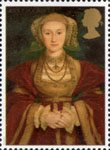 The Great Tudor 26p Stamp (1997) Anne of Cleves