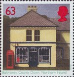 Sub-Post Offices 63p Stamp (1997) Ballyroney, County Down