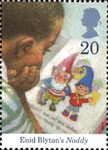 Birth Centenary of Enid Blyton 20p Stamp (1997) Noddy