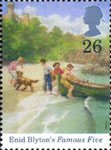 Birth Centenary of Enid Blyton 26p Stamp (1997) Famous Five