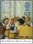 Birth Centenary of Enid Blyton 63p Stamp (1997) Malory Towers
