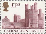 High Value Definitives �1.50 Stamp (1997) Caernarfon Castle