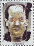 Europa. Tales and Legends. Horror Stories 31p Stamp (1997) Frankenstein