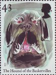 Europa. Tales and Legends. Horror Stories 43p Stamp (1997) The Hound of the Baskervilles