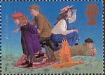 Magical Worlds 37p Stamp (1998) The Phoenix and the Carpet (E. Nesbit)