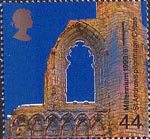 Millennium Series. The Christians' Tale 44p Stamp (1999) St Andrews Cathedral, Fife ('Pilgramage')