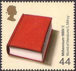 Millennium Series. The Artists' Tale 44p Stamp (1999) World of Literature (Lisa Milroy)