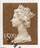 High Value Definitive �5 Stamp (1999) Brown